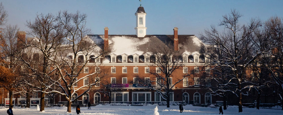 Illini Union in Winter